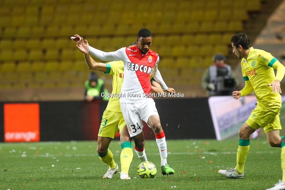 Abdou DIALLO - 17.01.2015 - Monaco / Nantes - 21eme journee de Ligue 1 <br />