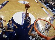 ATENE 21 AGOSTO 2007<br /> BASKET<br /> TORNEO AKROPOLIS<br /> ITALIA-GRECIA<br /> NELLA FOTO: HACKETT<br /> FOTO CIAMILLO-CASTORIA