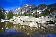 Hallet Peak Rocky Mountain National Park, Colorado