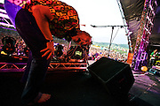 Fatboy Slim headlining at Rockness,  2008.