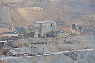 A view of the ancient Cerro Rico mines in Potosi, Bolivia.