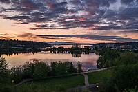 Capitol Lake & Heritage Park @ Sunset