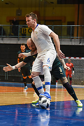 Denis Totoskovic of Slovenia during futsal friendly match between National teams of Slovenia and Italy, on December 3, 2019 in Maribor, Slovenia. Photo by Milos Vujinovic / Sportida