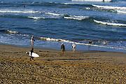 Huntington Beach People Playing on the Beach