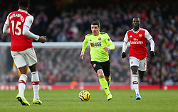 John Fleck of Sheffield United runs with the ball - Mandatory by-line: Arron Gent/JMP - 18/01/2020 - FOOTBALL - Emirates Stadium - London, England - Arsenal v Sheffield United - Premier League