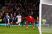 Yuri Zhirkov (Zenit St Petersburg) heads towards the Scotland goal during the UEFA European 2020 Qualifier match between Scotland and Russia at Hampden Park, Glasgow, United Kingdom on 6 September 2019.