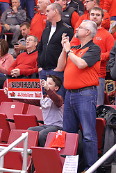 14 January 2017:  Jack and Roland Spies during an NCAA  MVC (Missouri Valley conference) mens basketball game between the Wichita State Shockers the Illinois State Redbirds in  Redbird Arena, Normal IL