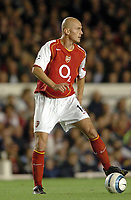 Fotball<br /> Champions League 2004/05<br /> Arsenal v PSV Eindhoven<br /> Gruppe E<br /> 14. september 2004<br /> Foto: Digitalsport<br /> NORWAY ONLY<br />  PASCAL CYGAN (ARS)