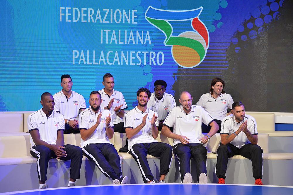 Raduno Nazionale Maschile Senior<br /> Media Day - Sky <br /> Milano 21/07/2017<br /> Foto Ciamillo-Castoria/ M,Longo