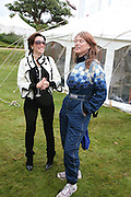 DANNI MINOGUE AND NETTIE MASON, Cartier Style et Luxe lunch. Goodwood.  24 June 2007.  -DO NOT ARCHIVE-© Copyright Photograph by Dafydd Jones. 248 Clapham Rd. London SW9 0PZ. Tel 0207 820 0771. www.dafjones.com.