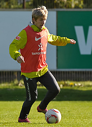 25.10.2010, Trainingsgelaende Werder Bremen, Bremen, GER, 1. FBL, Training Werder Bremen, im Bild Marko Marin (Bremen #10)   EXPA Pictures © 2010, PhotoCredit: EXPA/ nph/  Frisch+++++ ATTENTION - OUT OF GER +++++