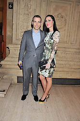 WILL STOPPARD & LINZI STOPPARD at Cirque du Soleil's VIP night of Kooza held at the Royal Albert Hall, London on 8th January 2013.