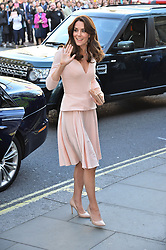 © Licensed to London News Pictures. 04/05/2016. London, UK. Catherine,Duchess of Cambridge arrives at the National Portrait Gallery to attend the Vogue 100: A Century of Style exhibition<br /> Photo credit: Ray Tang/LNP