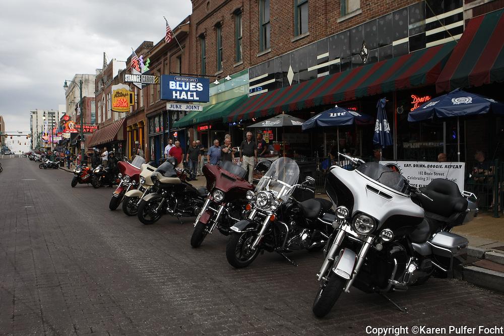 Beale Street Bike Night, Memphis, Tennessee