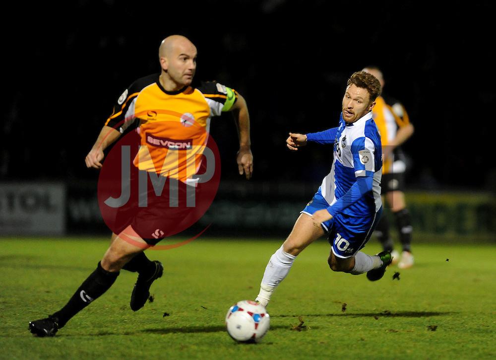 Bristol Rovers' Matty Taylor - Photo mandatory by-line: Neil Brookman/JMP - Mobile: 07966 386802 - 19/12/2014 - SPORT - football - Bristol - Memorial Stadium - Bristol Rovers v Gateshead  - Vanarama Conference