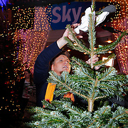 NLD/Hilversum/20121207 - Skyradio Christmas Tree, Rene Froger