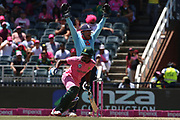 Jonny Bairstow (WK) big shout for Andile Phehlukwayo  during the One Day International match between South Africa and England at Bidvest Wanderers Stadium, Johannesburg, South Africa on 9 February 2020.