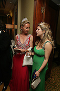 Serena Prest  and Felicia Morris. The Royal Caledonian Ball 2007. Grosvenor House. 4 May 2007.  -DO NOT ARCHIVE-© Copyright Photograph by Dafydd Jones. 248 Clapham Rd. London SW9 0PZ. Tel 0207 820 0771. www.dafjones.com.