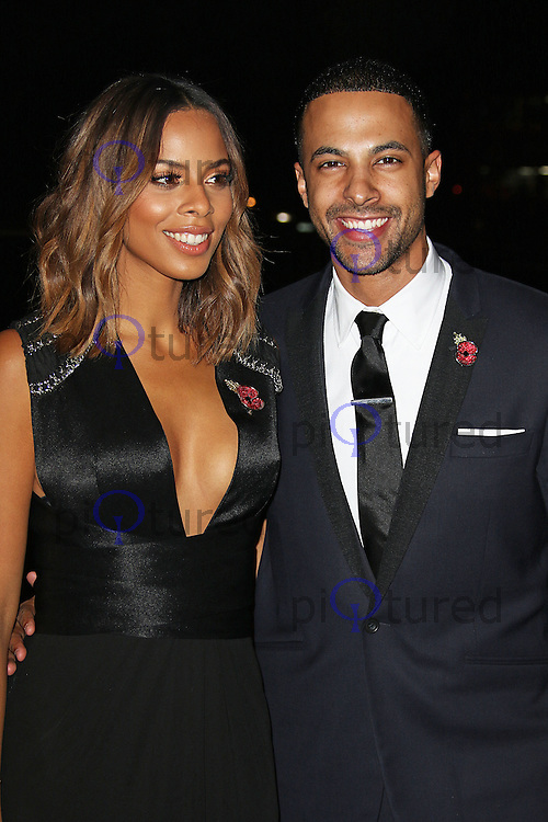 Rochelle Humes & Marvin Humes, Music Industry Trusts Award, Grosvenor House, London UK, 02 November 2015, Photo by Brett D. Cove