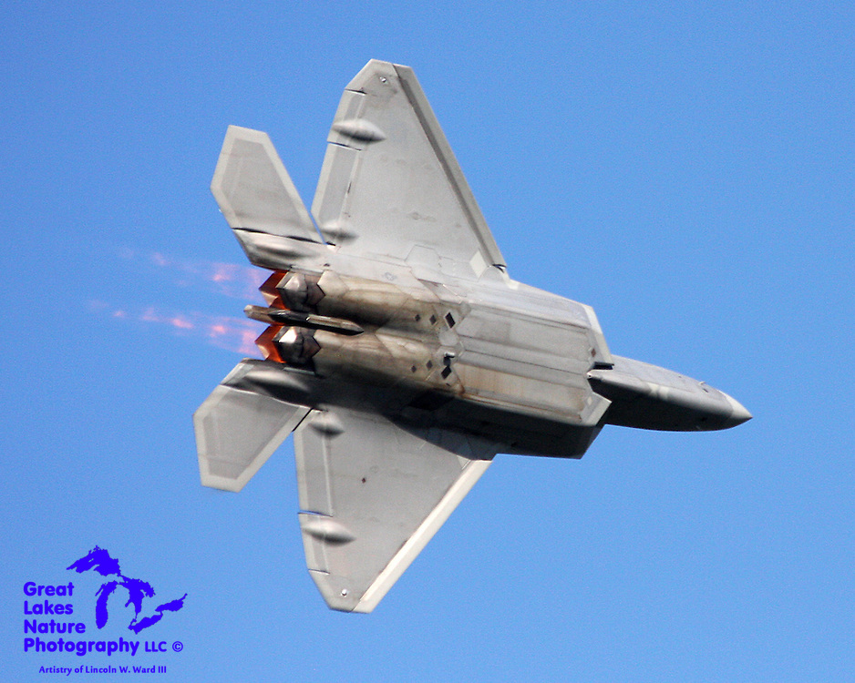 The US Air Force's F-22 Raptor is perhaps the most capable and spectacular combat aircraft that has ever existed. One must witness the capability of the plane at an airshow to understand.