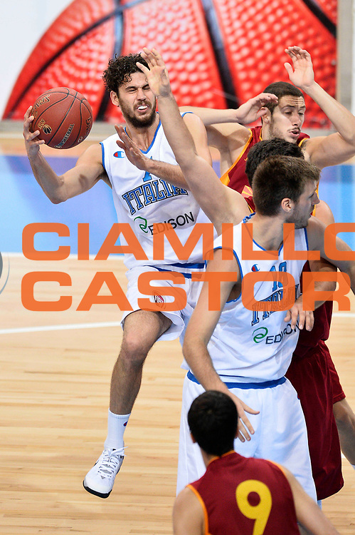 DESCRIZIONE : Skopje Nazionale Italia Uomini Torneo Internazionale di Skopje Italia Macedonia Italy FYROM<br /> GIOCATORE : Luca Vitali<br /> CATEGORIA : Tiro Sequenza<br /> SQUADRA : Italia Italy<br /> EVENTO : Trofeo Internazionale di Skopje<br /> GARA : Italia Macedonia Italy FYROM<br /> DATA : 26/07/2014<br /> SPORT : Pallacanestro<br /> AUTORE : Agenzia Ciamillo-Castoria/Max.Ceretti<br /> Galleria : FIP Nazionali 2014<br /> Fotonotizia : Skopje Nazionale Italia Uomini Torneo Internazionale di Skopje Italia Macedonia Italy FYROM