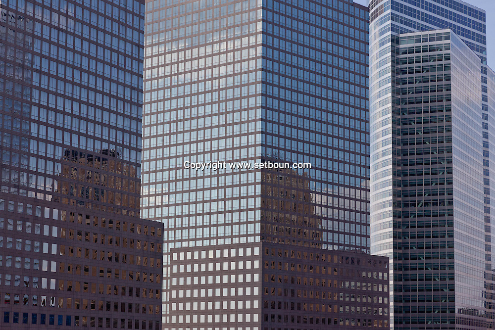 New York. les tours du world financial center,  downtown, lower Manhattan  / tours du World financial center New york - Etats unis