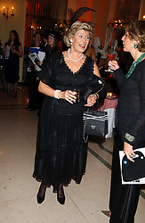 CAROLYN BENSON at A Riot - 1930's evening in aid of Great Ormand Street Hospital held at Claridge's, Brook Street, London on 31st January 2006.<br />