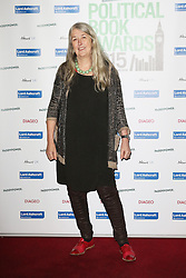 © Licensed to London News Pictures. 28/01/2015, UK. Mary Beard, The Paddy Power Political Book Awards, BFI Imax, London UK, 28 January 2015. Photo credit : Richard Goldschmidt/Piqtured/LNP