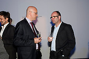 PHILLIPE GARNER; THOMAS DEMAND, The Photographers' Gallery Deutsche Borse Photography prize 2011.  Ambika P3. Baker St. London. 26 April 2011.  -DO NOT ARCHIVE-© Copyright Photograph by Dafydd Jones. 248 Clapham Rd. London SW9 0PZ. Tel 0207 820 0771. www.dafjones.com.