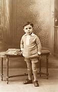 young boy posing 1920s