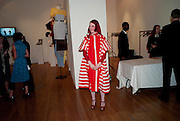 JULIE VERHOEVEN, The Royal College of Art Fashion Gala. Kensington Gore. London. 11 June 2009.