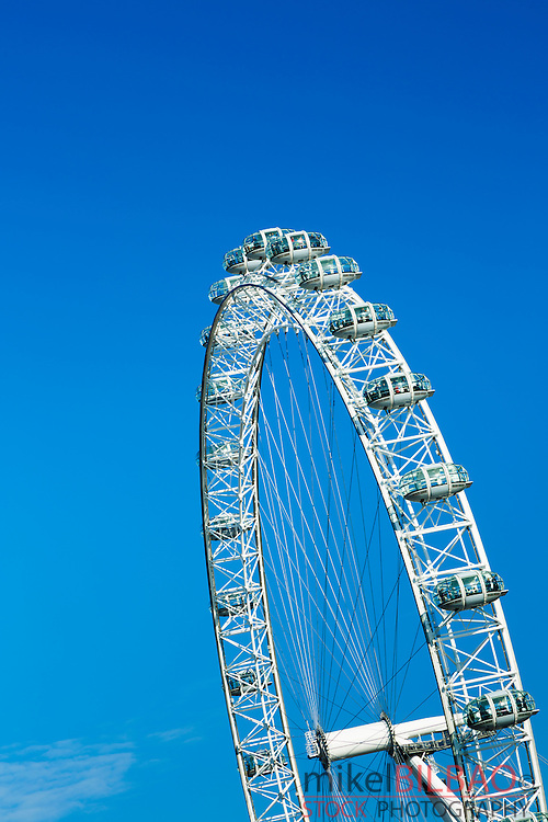 Millennium Wheel or London Eye. London, England, United kingdom, Europe.