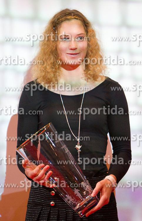 Barbara Spiler during the Slovenia's Athlete of the year award ceremony by Slovenian Athletics Federation AZS, on November 12, 2008 in Hotel Mons, Ljubljana, Slovenia.(Photo By Vid Ponikvar / Sportida.com) , on November 12, 2010.