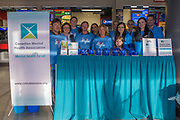 KELOWNA, CANADA - MARCH 14:  Canadian Mental Health at the Kelowna Rockets game on March 14, 2018 at Prospera Place in Kelowna, British Columbia, Canada.  (Photo By Cindy Rogers/Nyasa Photography,  *** Local Caption ***