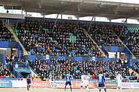 Fotball , 13. april 2013 , Adeccoligaen , 1. divisjon<br /> Stabæk - Kristiansund 0-0<br /> illustrasjon , Nadderud stadion , publikum , tribune , fan , fans