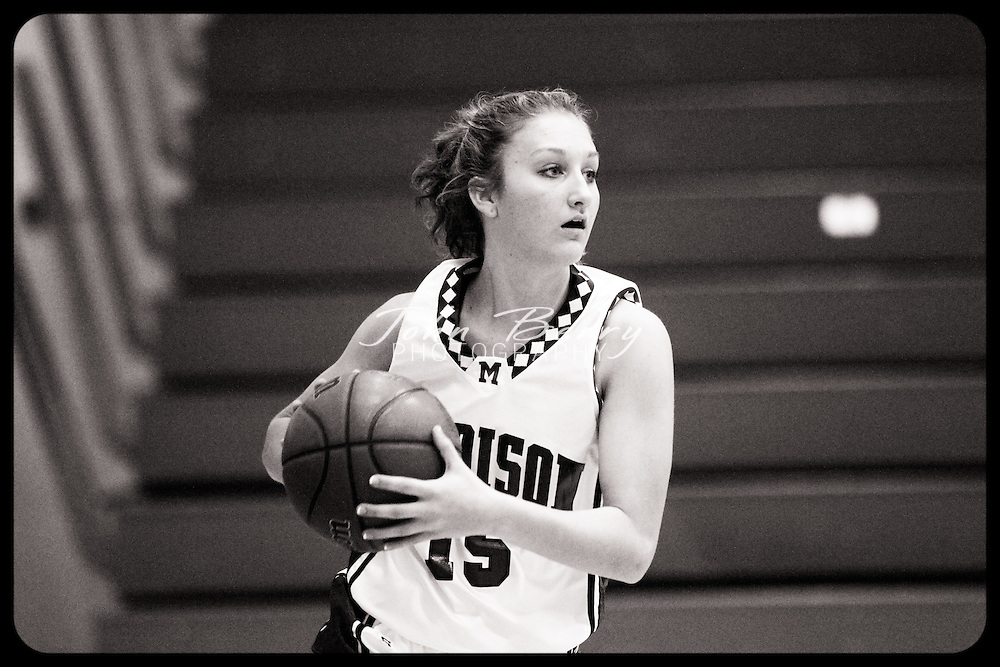 Date:  January/20/10, MCHS Varsity Girl's Basketball vs Fluvanna Flucos,