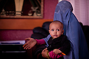 A woman pleads her case to Maria Bashir, Afghanistan's first female Chief Provincial Prosecutor.
