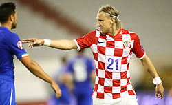 12.06.2015, Stadion Poljud, Split, CRO, UEFA Euro 2016 Qualifikation, Kroatien vs Italien, Gruppe H, im Bild Domagoj Vida // during the UEFA EURO 2016 qualifier group H match between Croatia and and Italy at the Stadion Poljud in Split, Croatia on 2015/06/12. EXPA Pictures © 2015, PhotoCredit: EXPA/ Pixsell/ Slavko Midzor<br /> <br /> *****ATTENTION - for AUT, SLO, SUI, SWE, ITA, FRA only*****