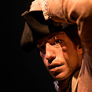 Thursday,  February 23, 2017, The Museum of the American Revolution has installed more than 15 incredibly lifelike figures in a series of historical vignettes that recreate particular moments during the American Revolution. These figures aim to personalize the wide range of people who were involved in the Revolution before the age of photography. Here, the teenaged Joseph Plumb Martin, a soldier whose memoir of his Revolutionary War service became a classic source on the experience of American soldiers in the conflict.  ED HILLE . Staff Photographer