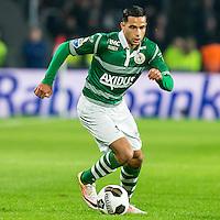 EINDHOVEN - PSV - Sparta Rotterdam , Voetbal , Eredivisie , Seizoen 2016/2017 , Philips Stadion , 22-10-2016 , Sparta speler Zakaria El Azzouzi