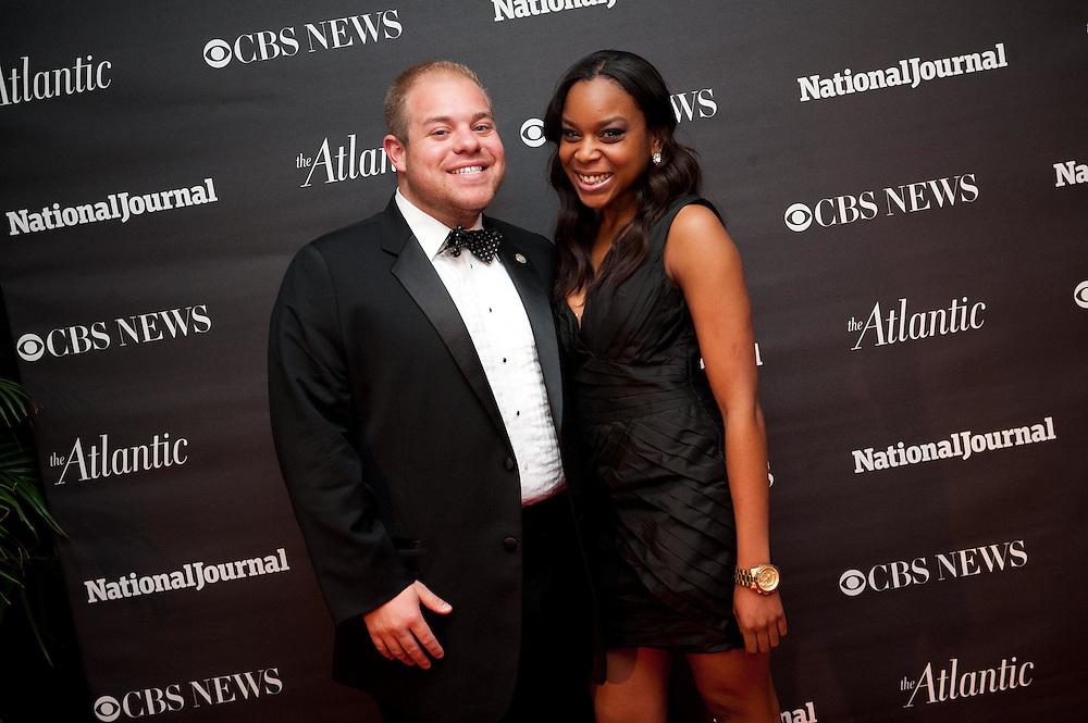 2012 WHCD Photos - National Journal, CBS News and The Atlantic host a Pre-Dinner Cocktail Reception.