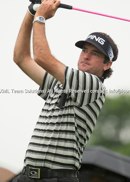 June 04 2016:  Dublin, OH, USA: Bubba Watson teeing off during the Third Round of the Memorial Tournament presented by Nationwide at the Muirfield Village Golf Club. (Photo by Jason Mowry/Icon Sportwire)