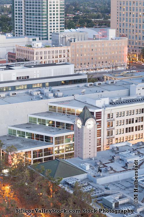 Aerial View of San Jose, California, USA