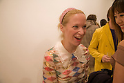 NATHALIE PRESS  Exhibition of work by Marc Newson at the Gagosian Gallery, Davies st. London. afterwards at Mr. Chow, Knightsbridge. 5 March 2008.  *** Local Caption *** -DO NOT ARCHIVE-© Copyright Photograph by Dafydd Jones. 248 Clapham Rd. London SW9 0PZ. Tel 0207 820 0771. www.dafjones.com.