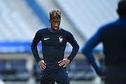 PARIS, FRANCE - JUNE 09: (CHINA OUT) <br /> <br /> Kingsley Coman of France attends a training session on the eve of the beginning of the Euro 2016 European football championships football match against Romania at Stade de France stadium on June 9, 2016 in Saint-Denis near Paris, France. <br /> ©Exclusivepix Media