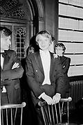 William Hague. Oxford Union. 1980.  © Copyright Photograph by Dafydd Jones 66 Stockwell Park Rd. London SW9 0DA Tel 020 7733 0108 www.dafjones.com