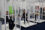 SMOKING ROOM; VICENTE TODOLI; RITA CALTAGIRONE, Frieze Art Fair 2008. Regent's Park. London. 15 October 2008 *** Local Caption *** -DO NOT ARCHIVE -Copyright Photograph by Dafydd Jones. 248 Clapham Rd. London SW9 0PZ. Tel 0207 820 0771. www.dafjones.com
