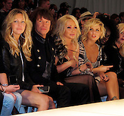 Heather Locklear, Richie Sambora, Nikki Lund and Kimberly Caldwell..Los Angeles Fashion Week Spring/Summer 2011- WTB Collection..White Trash Beautiful Fashion Show by Richie Sambora and Nikki Lund.