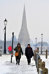 © Licensed to London News Pictures.02/03/2018<br /> Blackheath, UK.<br /> The freezing cold weather continues at Blackheath Common, Blackheath.<br /> Photo credit: Grant Falvey/LNP