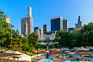 Victorain Gardens, Wollman Rink, Central Park, Manhattan, New York City, NY